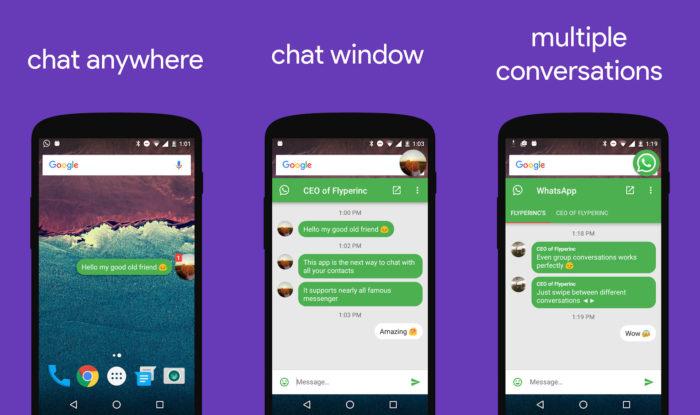 Android / Flychat / como tirar o online do whatsapp