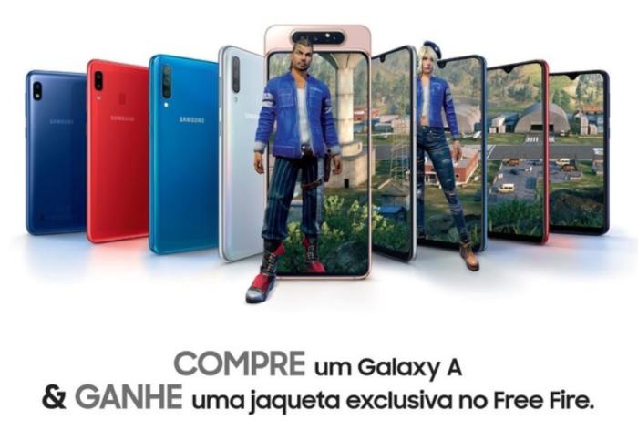 Samsung / promoção Free Fire / como resgatar códigos free fire