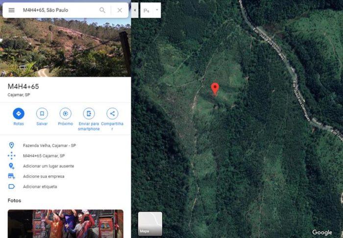 Google Maps e Plus Code