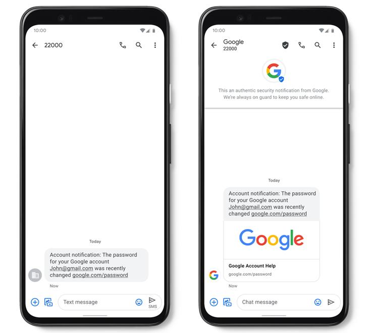 google-sms-verificado