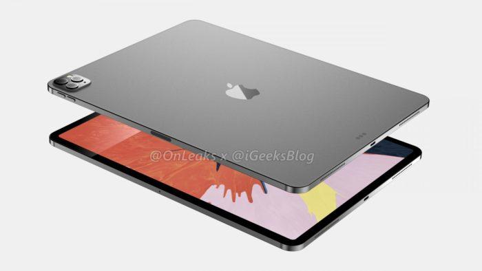 iPad Pro (2020) de 12,9 polegadas (Foto: iGeeksBlog/OnLeaks)