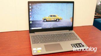 Notebook Lenovo Ideapad S145: um basicão com poder de fogo