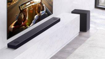 LG diz usar inteligência artificial em soundbars para calibrar som