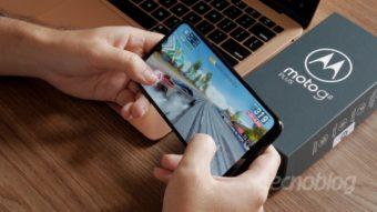 Moto G8 Plus: sei lá o que aconteceu