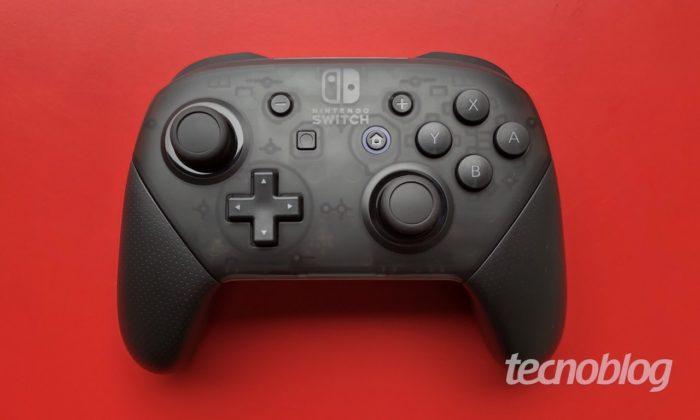 Controle do Switch pode ser usado no PC
