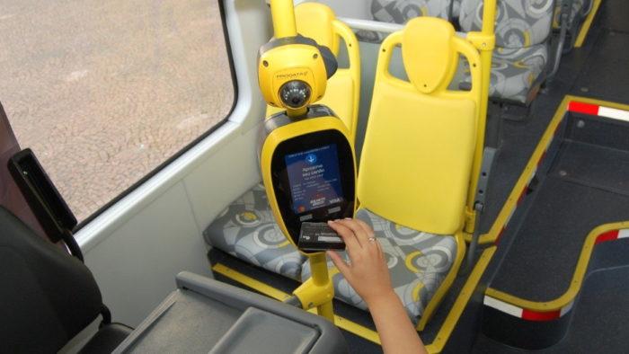 NFC em ônibus de São Paulo