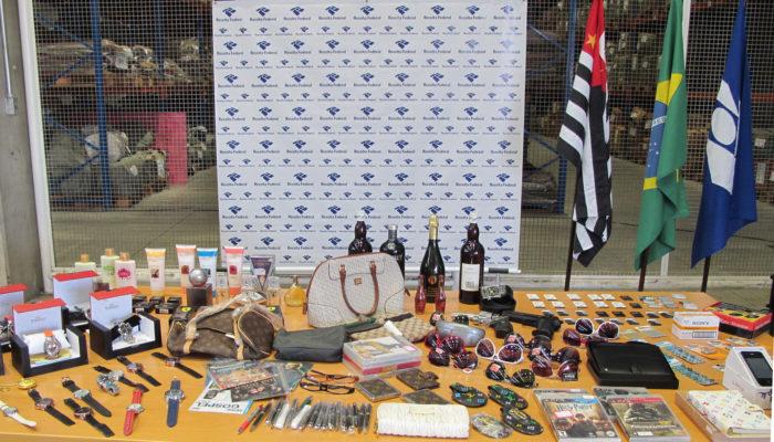 Dia Nacional de Combate à Pirataria (Divulgação/Receita Federal)