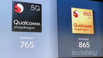 Qualcomm Snapdragon 865, 765 e 765G são os novos chips com 5G