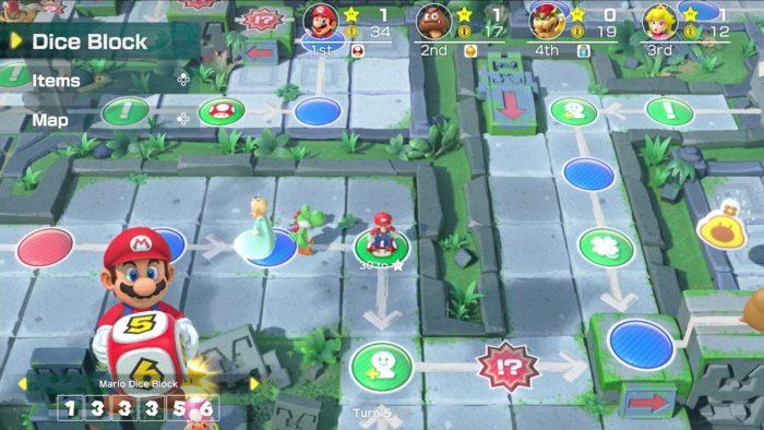Nintendo / Super Mario Party / nintendo switch lite jogos incompatíveis