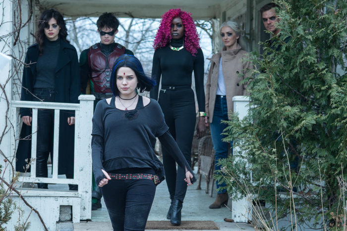 A segunda temporada de titãs é um dos lançamentos originais da Netflix