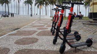Uber começa a alugar patinetes elétricos no Brasil para concorrer com Yellow e Grin