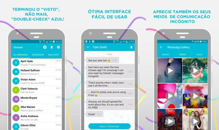 Android / Unseen / como tirar o online do whatsapp