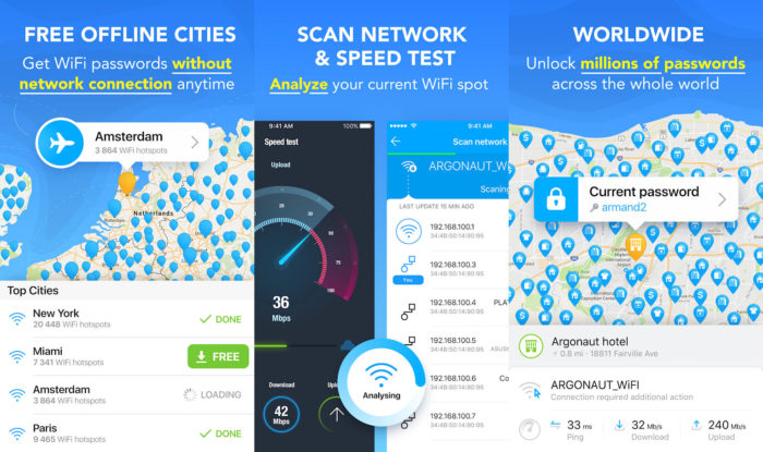 Android / WiFi Map / apps para descobrir senha de wi-fi