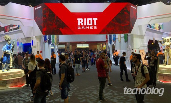 Estande da Riot Games na Comic Con (CCXP) 2019