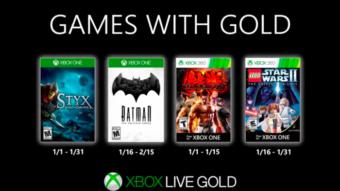 Batman, Tekken e Lego Star Wars são os jogos grátis do Xbox Live em janeiro