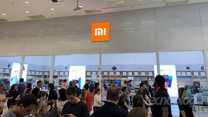 Xiaomi Mi Store no Shopping Center Norte (Imagem: Felipe Ventura / Tecnoblog)
