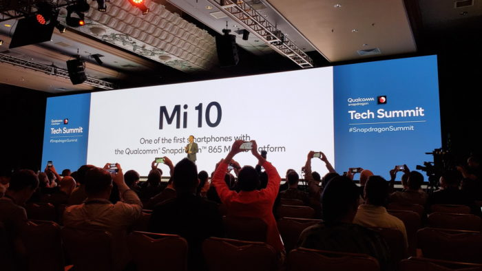 Xiaomi Mi 10 e Snapdragon 865