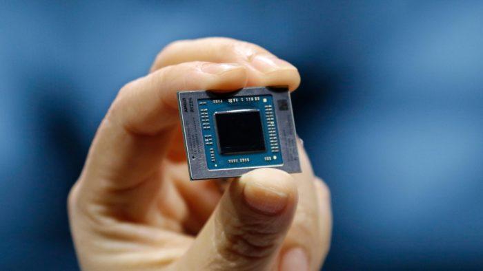 Processador da linha Ryzen 4000 (imagem: divulgação/AMD)