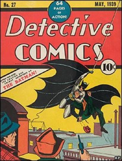 Primeiro quadrinho do Batman, de 1939, também estaria em domínio público se não fosse pela Disney