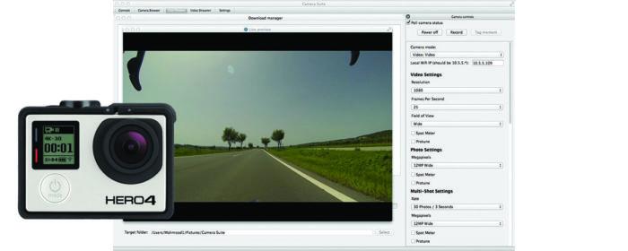 Camerasuite for GoPro
