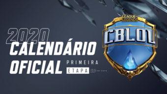 CBLoL 2020: Riot Games divulga calendário do campeonato