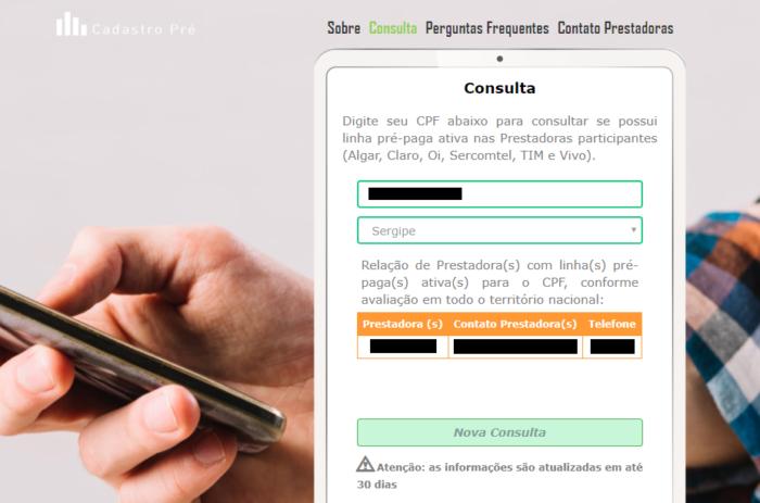 Consulta Pré