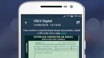 CRLV digital chega a 22 estados e registra 2 milhões de usuários