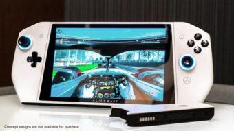 Alienware Concept UFO é um PC gamer com formato de Nintendo Switch