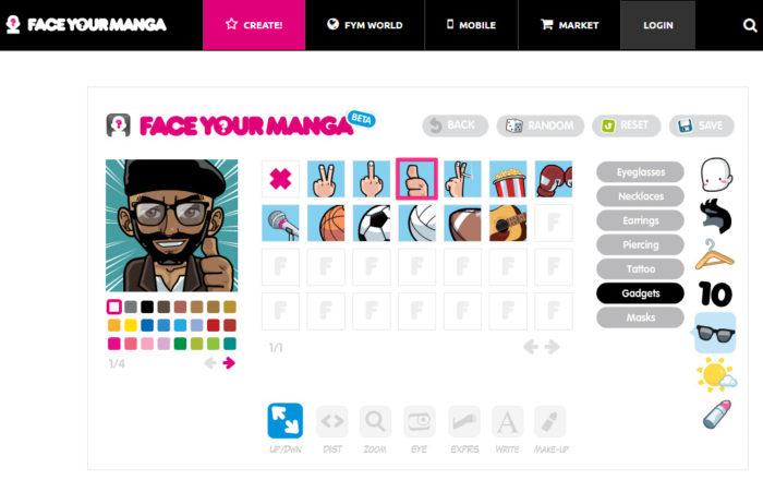 Face Your Manga / anime avatar