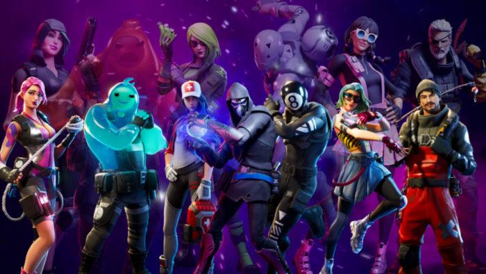 Epic Games / Fortnite / Fortnite tela dividida