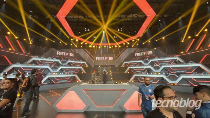 garena free fire estudio