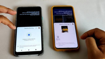 """Google Nearby Sharing, o """"AirDrop do Android"""", é demonstrado em vídeo"""