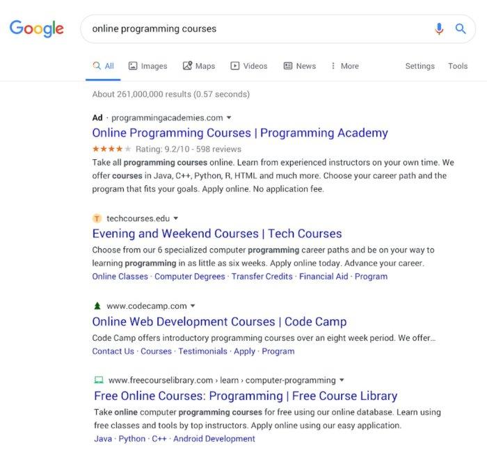 google pesquisa nova desktop