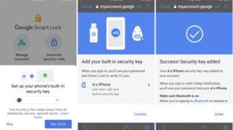 Google já permite usar iPhone como chave para autenticação em dois passos