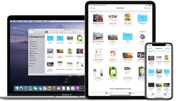 iCloud é o serviço de armazenamento em nuvem da Apple (Imagem: Divulgação/Apple)