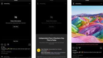 """Instagram pode ocultar imagem """"photoshopada"""" por considerá-la falsa"""