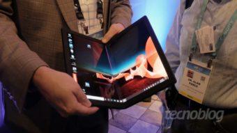 Lenovo ThinkPad X1 Fold: uma olhada no PC dobrável de US$ 2.500