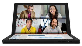 Lenovo ThinkPad X1 Fold é um tablet PC dobrável com tela OLED