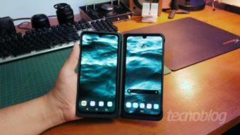 LG G8X ThinQ: duas telas sem hype