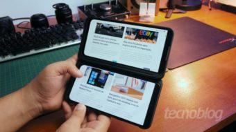 LG vende G8X com desconto e sem carregador na caixa