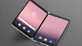 Microsoft Surface Duo, dobrável com Android 10, pode vir sem NFC