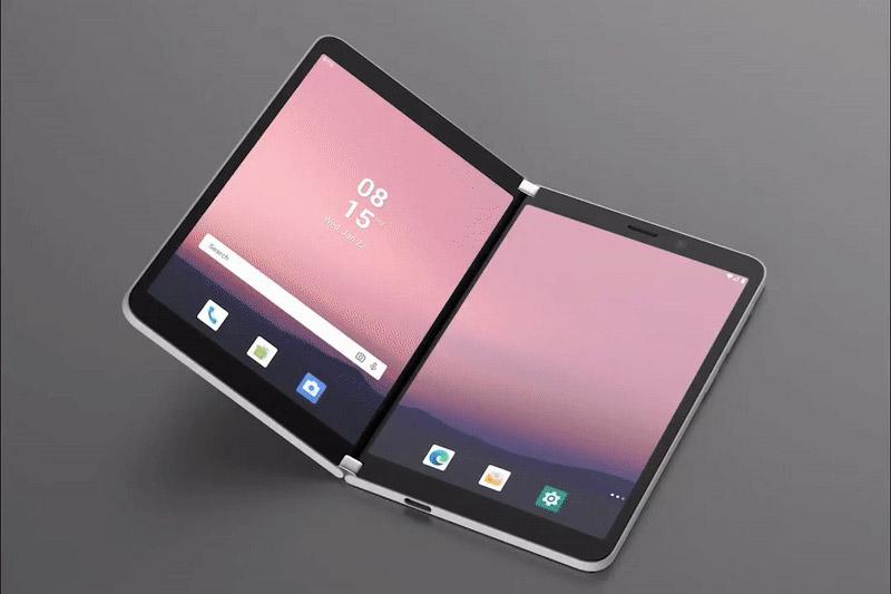 Microsoft Surface Duo (Imagem: Divulgação/Microsoft)
