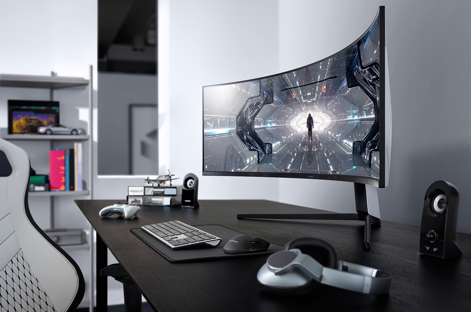 Samsung novo monitor odyssey  G9 curvado
