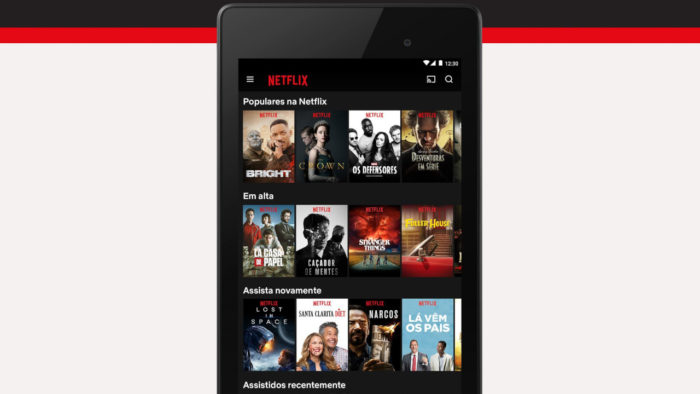 Netflix / como assistir netflix do celular para tv com cabo usb