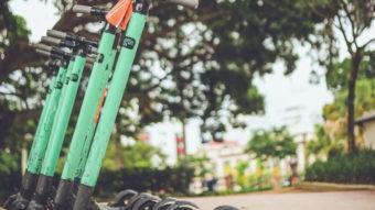 Grin retira patinetes de Santos (SP) após Uber lançar concorrente na cidade