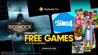 BioShock e The Sims 4 são os jogos gratuitos da PS Plus de fevereiro