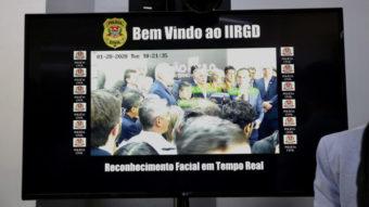 Polícia de SP inaugura laboratório de reconhecimento facial