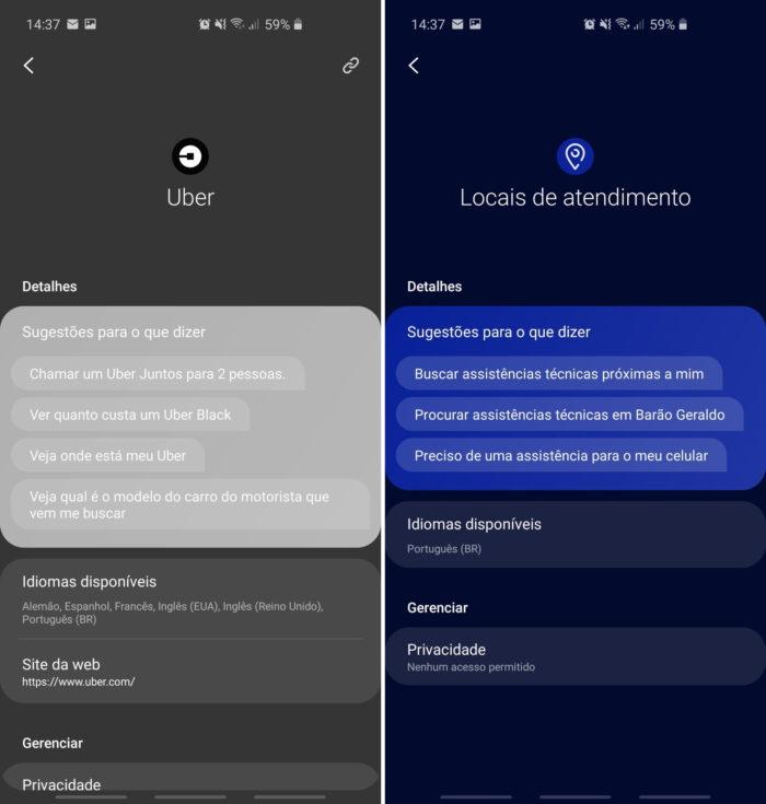 Samsung Bixby em português