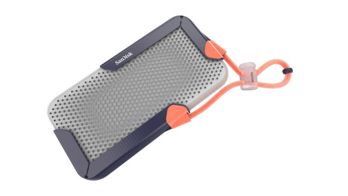 SSD portátil de 8 TB da SanDisk