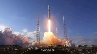 SpaceX lança mais 60 satélites Starlink para rede global de internet